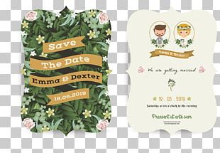Marriage Engagement Wedding Invitation PNG