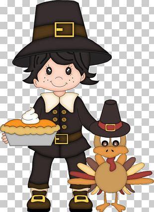 Thanksgiving Pilgrims Child PNG