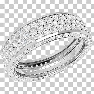 Wedding Ring Diamond Eternity Ring Brilliant PNG