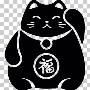 Cat Maneki-neko Luck Computer Icons PNG