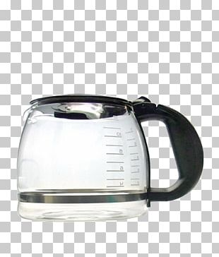 Coffeemaker Glass Kettle Mug PNG