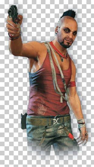 Far Cry Man Gun PNG