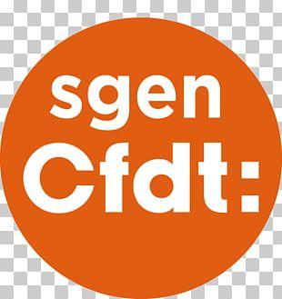 SGEN-CFDT French Democratic Confederation Of Labour Logo School Education PNG