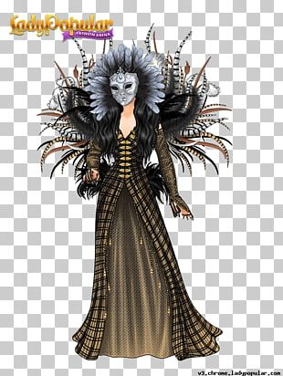 Lady Popular XS Software Dress Fashion Costume PNG