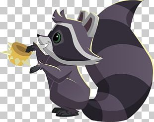 Raccoon National Geographic Animal Jam Over Spikes Collar Pet PNG