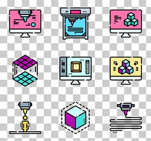 3D Printing Computer Icons Graphics Industry PNG