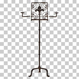 Antique Music Stand Furniture Musical Instruments PNG