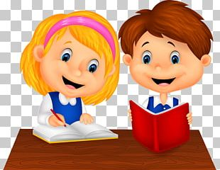 Study Skills Cartoon PNG