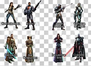 Figurine Action & Toy Figures Star Wars: The Old Republic Character Mercenary PNG
