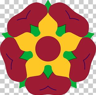 Flag Of Northamptonshire Flower PNG