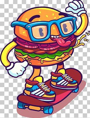 Hamburger Euclidean Illustration PNG