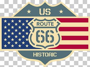 U.S. Route 66 Sticker Car Decal Logo PNG