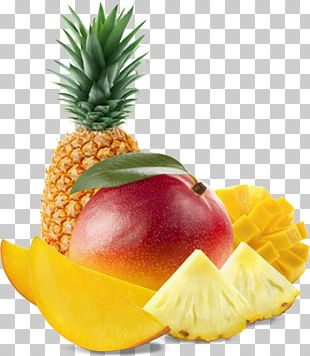 Juice Fruit Salad Pineapple Mango Tropical Fruit PNG