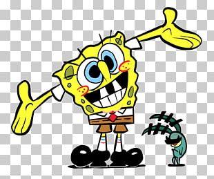 Plankton And Karen Mr. Krabs Patrick Star SpongeBob SquarePants Squidward Tentacles PNG
