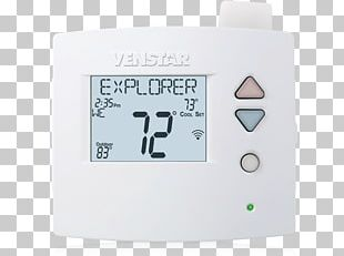 Programmable Thermostat HVAC Heat Pump Smart Thermostat PNG