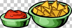 Salsa Chips And Dip Nachos Mexican Cuisine Club Penguin PNG