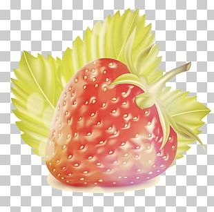 Strawberry Fruit Natural Foods Vegetable Coloring Book PNG