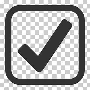 Checkbox Check Mark Computer Icons Microsoft Word PNG