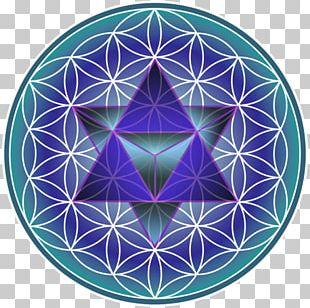 Merkabah Mysticism Sacred Geometry Mandala Overlapping Circles Grid PNG