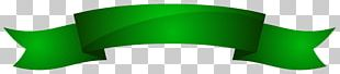 Green Ribbon Color PNG
