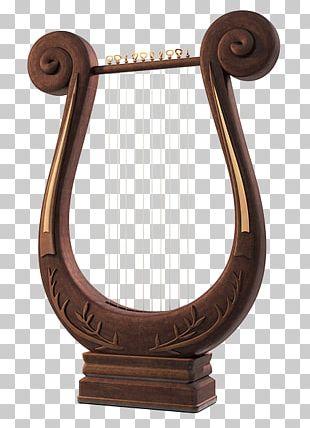Lyre Harp Greek Musical Instruments String Instruments PNG