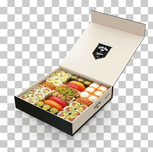 Sushi Take-out Box Packaging And Labeling Food Packaging PNG