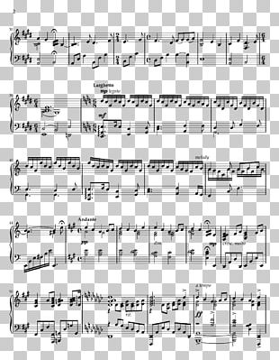Sheet Music Musical Note Music Theory Piano PNG