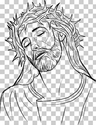 Crown Of Thorns Drawing Christianity Son Of God PNG
