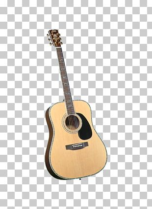 Dreadnought Steel-string Acoustic Guitar Musical Instruments PNG