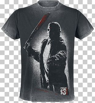 Friday The 13th: The Game Merchandising Jason Voorhees Fan T-shirt PNG
