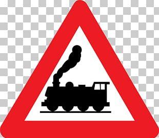 Rail Transport Train Level Crossing Warning Sign Traffic Sign PNG