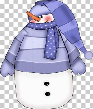 Snowman Peeps Paper Flour Sack PNG