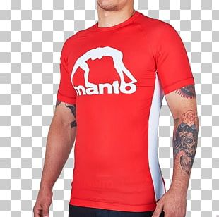 T-shirt Rash Guard Brazilian Jiu-jitsu Sleeve Grappling PNG
