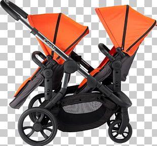 Baby Transport Infant Orange Blossom Twin PNG