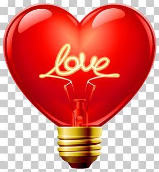 Heart Light PNG
