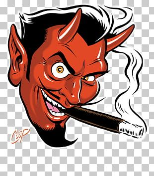 Devil's Advocate: The Art Of Coop Sticker Artist Poster PNG
