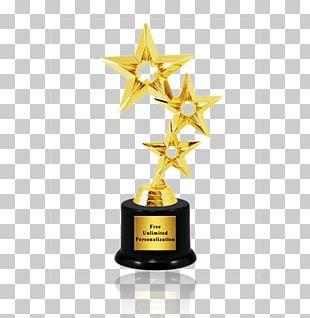 Trophy Foto Valley Award Gold Medal PNG
