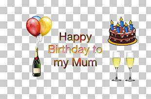 Wine Glass Food Birthday Cake PNG