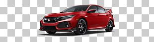 2018 Honda Civic Type R Hatchback Car PNG