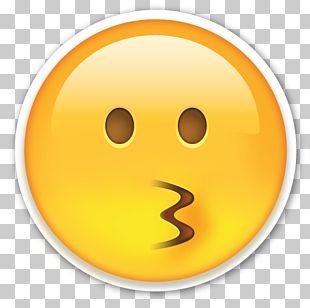 Emoji Sticker Paper Die Cutting Kiss PNG