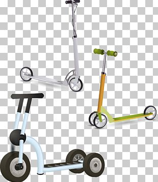 Kick Scooter Wheel Bicycle Toy PNG