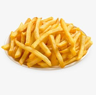 Eating Fries PNG