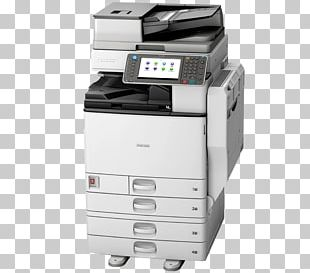 Ricoh Photocopier Multi-function Printer Printing PNG