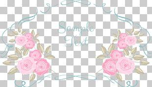 Still Life: Pink Roses Wedding Invitation Valentine's Day PNG