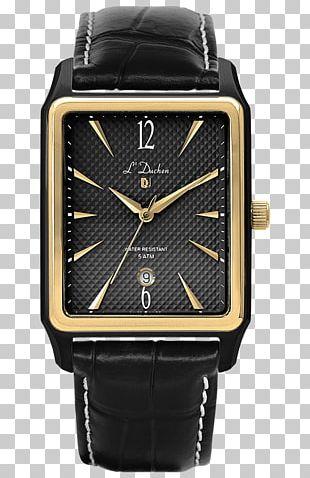 Watch Quartz Clock Bracelet Leather PNG
