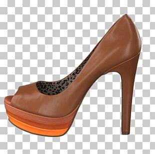 Caramel Color Shoe Hardware Pumps PNG