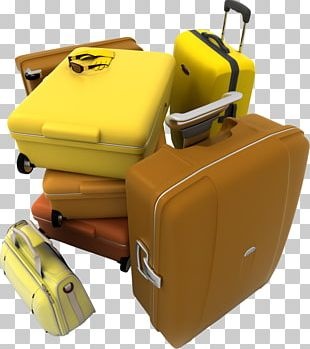 Baggage Travel Flight Suitcase Airline PNG