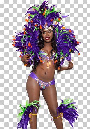Brazilian Carnival Dance Costume Samba PNG