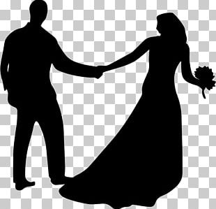 Marriage Silhouette PNG