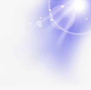Blue Sky And Sun Background Material PNG